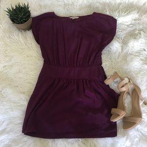 BCBGeneration purple/plum silk dress. Size 2.